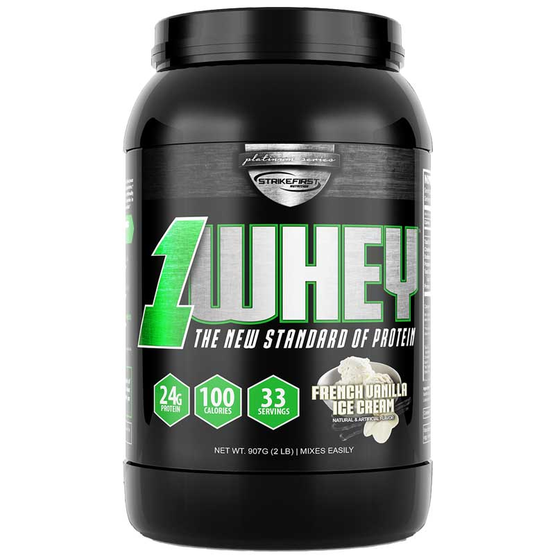 "1-Whey</br><span class=""shop-subt"">The New Standard of Protein</span>"
